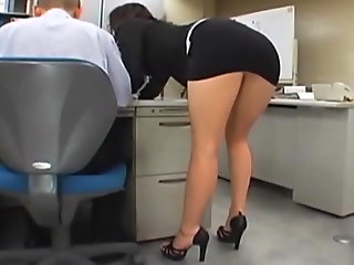 office, japanese, girl, gets, fucked,