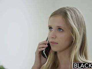 petite, blacked, blonde, teen, rachel, james