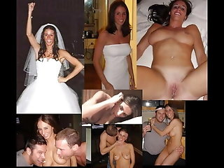 dress, wedding, wife, husband, cuckold, milf