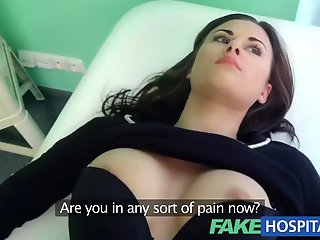 hospital, fake, treatment, patient, moan, pleasure
