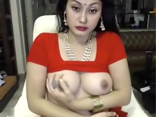 bitch, indian, masturbates, saree, ,