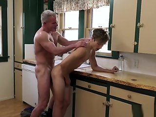 twink, cute, visits, stepgrandpas, cock, sleepover