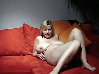wife, busty, cheating, friend, sofa,