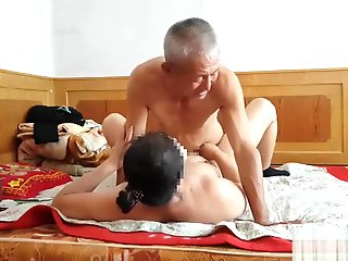 chinese, handsome, grandpa, giving, fucking,
