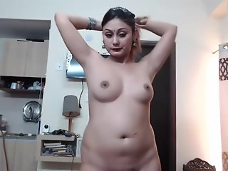 indian, desi, girl, show, boobs, webcam