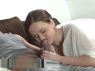 stepmother, horny, wants, surprise, cumshot,