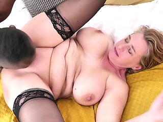 milf, favourite, gets, banged, bbc,