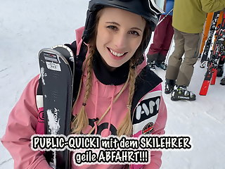 fucks, teeny, publicly, ski, instructor,