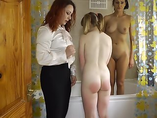punishment, lezdom, spanking, , ,