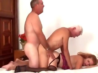 couple, mature, threesome, , ,