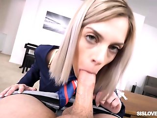 blonde, experienced, babe, allie, nice, sucking