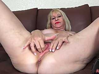 sandy, allover30, pierce, mature, pleasure,