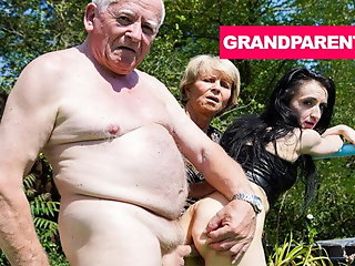 grandpa, rejuvenating, 039, worn, cock, granny