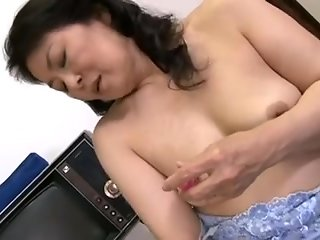 japanese, horny, mature, bitch, finger, fucked