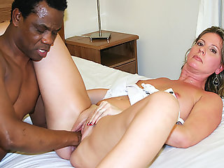 moms, sexy, first, interracial, fisting, lesson